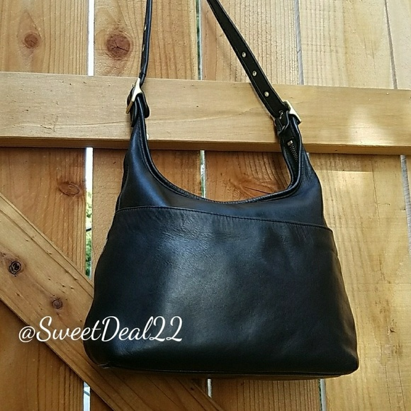 Coach Handbags - Vintage Coach Black Leather Legacy Hobo f241df4294c89